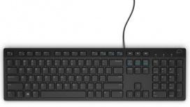 Teclado Dell KB216, Alámbrico, USB, Negro (Inglés)