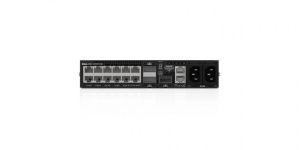 Switch Dell Gigabit Ethernet DN_S4112T_PS, 12 Puertos 10/100/1000Mbps + 3 Puertos QSFP+, 840Gbit/s, Gestionado