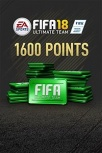FIFA 18 Ultimate Team, 1600 Puntos, Xbox One ― Producto Digital Descargable