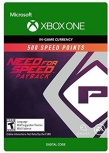 Need for Speed Payback, 500 Puntos, Xbox One ― Producto Digital Descargable