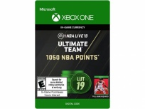 NBA LIVE 19: Ultimate Team 1050 NBA Points, Xbox One ― Producto Digital Descargable