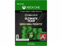 NBA LIVE 19: Ultimate Team 5850 NBA Points, Xbox One ― Producto Digital Descargable