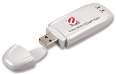 Encore Adaptador de Red USB ENUWI-SG, Inalámbrico, WLAN, 108 Mbit/s, 2.4GHz, Antena 2 dBi