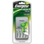 Energizer Kit Cargador para 1-4 Pilas AA o AAA + 4 Pilas AA
