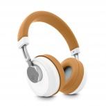 Energy Sistem Audífonos con Micrófono BT Smart 6 Voice Assistant Caramel, Bluetooth, Inalámbrico, USB, Marrón/Blanco