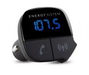 Energy Sistem Transmisor de Audio Bluetooth para Auto, USB 2.0, Negro