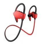 Energy Sistem Audífonos Intrauriculares Deportivos con Micrófono Sport 1, Bluetooth, Inalámbrico, Rojo