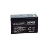 Epcom Batería con Tecnología AGM/VRLA PL-7-12, 12V, 7000mAh