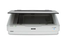 Scanner Epson Expression 12000XL, 2400 x 4800 DPI, Escáner Color, USB 2.0, Blanco