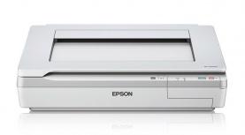 Scanner Epson WorkForce DS-50000, 600 x 600 DPI, Escáner Color, USB, Blanco