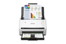 Scanner Epson DS-575W, 600 x 600DPI, Escaner Color, Escaneado Dúplex, Inalámbrico, USB 3.0, Negro/Blanco