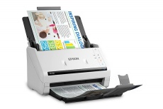Scanner Epson DS-530, 300 x 300 DPI, Escáner Color, Escaneado Dúplex, USB 3.0, Blanco
