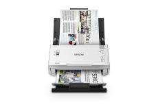 Scanner Epson DS-410, 600 x 600DPI, Escáner Color, Escaneado Dúplex, USB 3.0, Blanco
