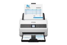 Scanner Epson DS-970, 600 x 600DPI, Escáner Color, Escaneado Dúplex, USB 3.0, Gris/Blanco