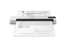 Scanner Portátil Epson DS-70, 600 x 600DPI, Escáner Color, USB 2.0, Negro/Blanco