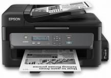Multifuncional Epson EcoTank WorkForce M200, Blanco y Negro, Inyección, Tanque de Tinta, Print/Scan