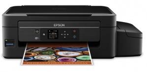 Multifuncional Epson L475, Color, Inyección, Tanque de Tinta (EcoTank), Inalámbrico, Print/Scan/Copy