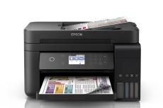 Multifuncional Epson EcoTank L6171, Color, Inyección, Tanque de Tinta, Inalámbrico, Print/Scan/Copy