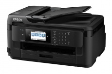 Multifuncional Epson WorkForce WF-7710, Color, Inyección, Inalámbrico, Print/Scan/Copy/Fax