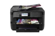 Multifuncional Epson WorkForce WF-7720, Color, Inyección, Inalámbrico, Print/Scan/Copy/Fax