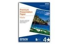 Epson Papel Doble Cara 167g/m², 50 Hojas de Tamaño Carta