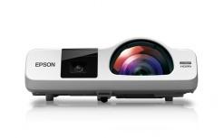 Proyector Interactivo Epson BrightLink 536Wi 3LCD, WXGA 1280 x 800, 3400 Lúmenes, Blanco