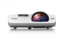 Proyector Epson PowerLite 535W 3LCD, WXGA 1280x800, 3400 Lúmenes, Tiro Corto, con Bocinas, Blanco