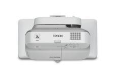 Proyector Interactivo Epson BrightLink 685Wi 3LCD, WXGA 1280 x 800, 3500 Lúmenes, Tiro Corto, con Bocinas, Gris/Blanco