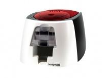 Evolis Badgy 200 Impresora para Credenciales, 260 x 300 DPI, USB, Negro/Blanco