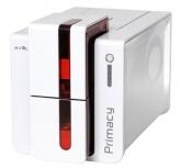 Evolis Primacy Impresora para Tarjetas PVC, 300 x 300 DPI, USB 1.1, Blanco/Rojo