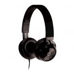 Getttech Audífonos con Micrófono Sonority, Alámbrico, 1.2 Metros, 3.5mm, Negro