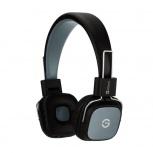 Getttech Audífonos con Micrófono Reveal, Alámbrico, 1.2 Metros, 3.5mm, Negro/Gris