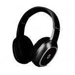 Getttech Audífonos con Micrófono GH-4640N, Bluetooth, Inalámbrico, Negro