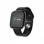 Getttech Smartwatch GRI-25701, Touch, Bluetooth 5.0, Negro