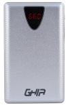 Cargador Portátil Ghia Volta Power Bank GAC-014, 8000mAh, Plata
