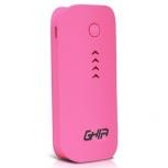 Cargador Portátil Ghia Power Bank Volta GAC-021, 3600mAh, Rosa
