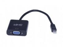Ghia Adaptador DisplayPort Macho - VGA Hembra, Negro