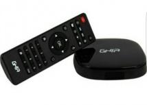 Ghia Smart TV Box GAC-009, 8GB, WiFi, HDMI, USB 2.0