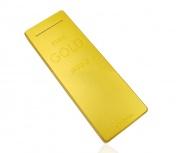 Cargador Portátil Ghia Power Bank GAC-120, 10.000mAh, Dorado