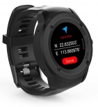 Ghia Smartwatch GAC-142, Touch, Bluetooth 4.0, Android 7.1/iOS 9.3, Negro - Resistente al Agua