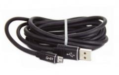 Ghia Cable USB Macho - Micro-USB Macho, 2 Metros, Negro