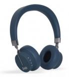 Ghia Audífonos con Micrófono N3, Bluetooth, Inalámbrico, Azul