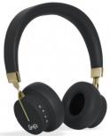 Ghia Audífonos con Micrófono N3, Bluetooth, Inalámbrico, Negro