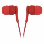 Ghia Audífonos Intrauriculares con Micrófono COMET2, Alámbrico, 1.2 Metros, 3.5mm, Rojo
