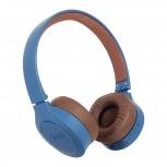 Ghia Audífonos N2 Hifi Sound, Bluetooth, Inalámbrico, Azul