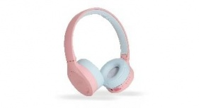 Ghia Audífonos N2 Hifi Sound, Bluetooth, Inalámbrico, Rosa