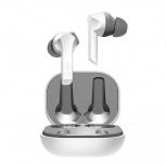 Ghia Audífonos Intrauriculares con Micrófono G.Pods, Inalámbrico, Bluetooth, Blanco