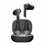 Ghia Audífonos Intrauriculares con Micrófono G.Pods, Inalámbrico, Bluetooth, Negro