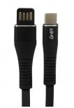Ghia Cable USB A Macho - USB C Macho, 1 Metro, Negro