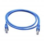 Ghia Cable Patch Cat5e UTP RJ-45 Macho - RJ-45 Macho, 1 Metro, Azul